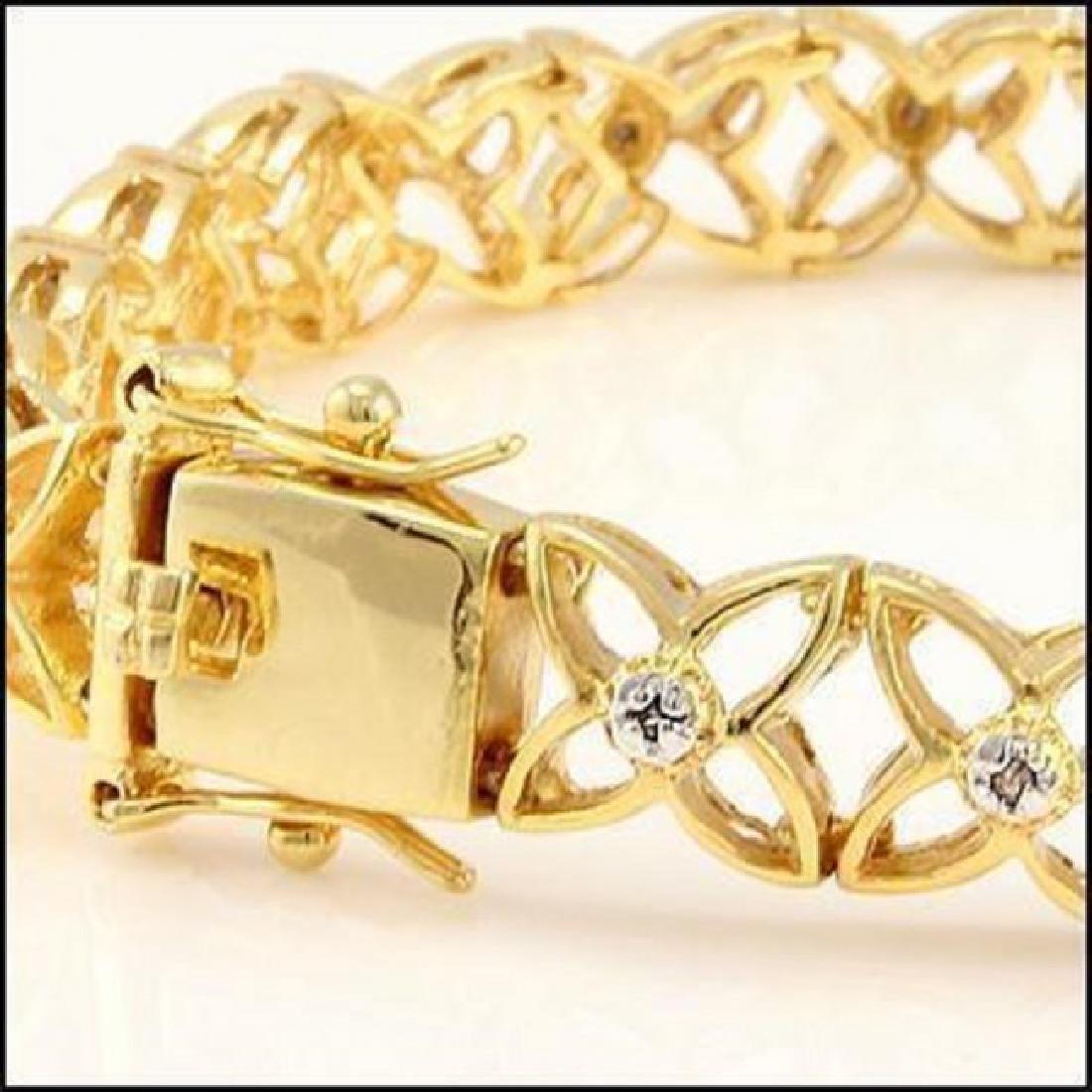0.74 CTW Diamond Designer Bracelet - 2