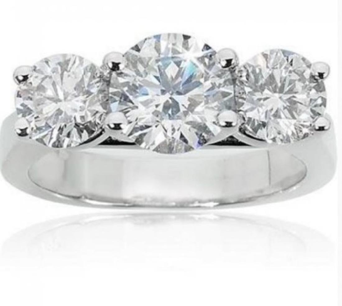 1.315 Cts Certified Diamond 14K Designer Engagement