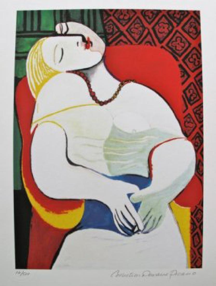 Pablo Picasso THE DREAM Estate Signed Ltd Ed Giclee