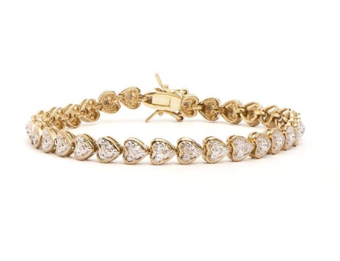 0.88 CT Diamond Designer Bracelet $1,785