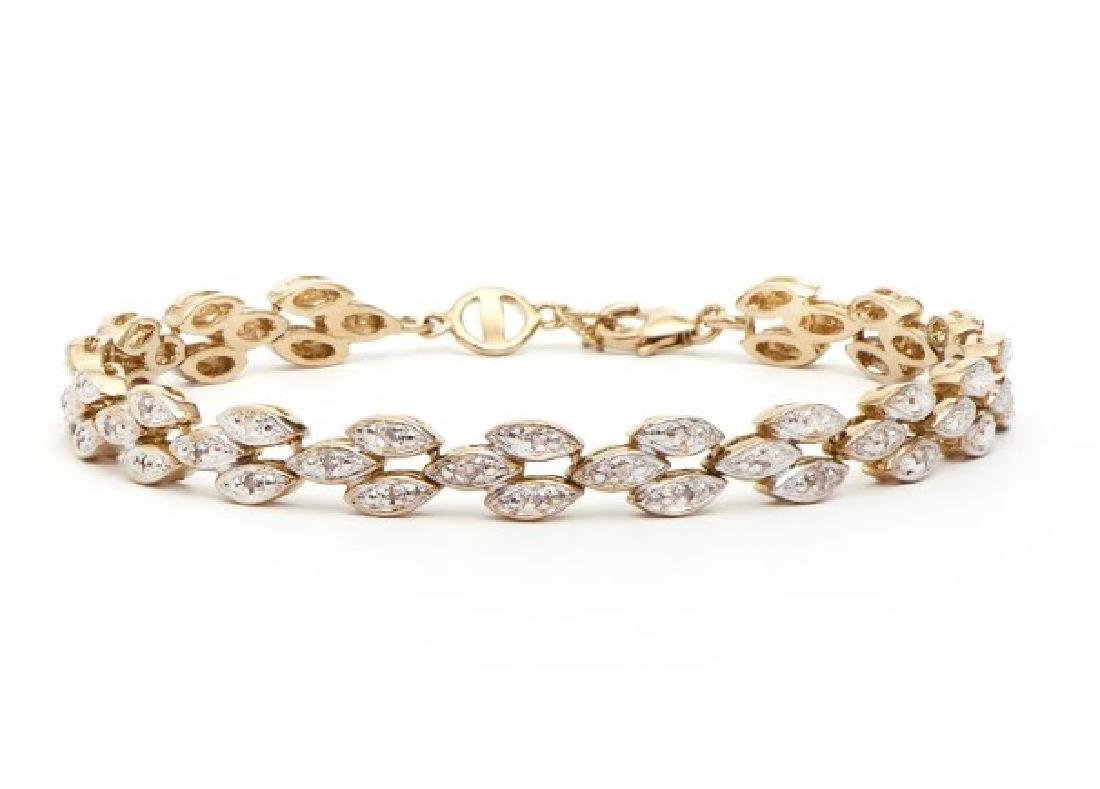 0.83 CT Diamond Designer Bracelet $1,725