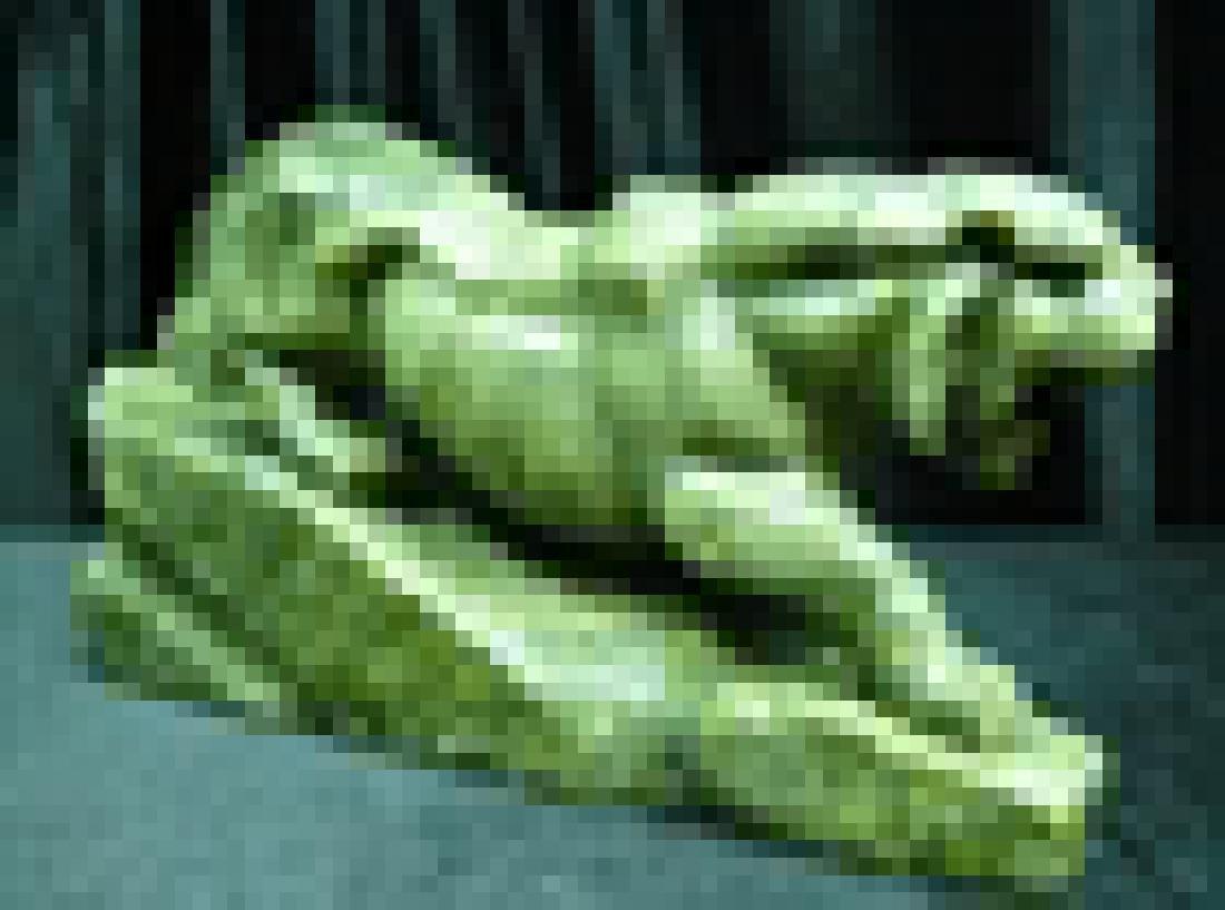 Green Jade Running Tiger - 3