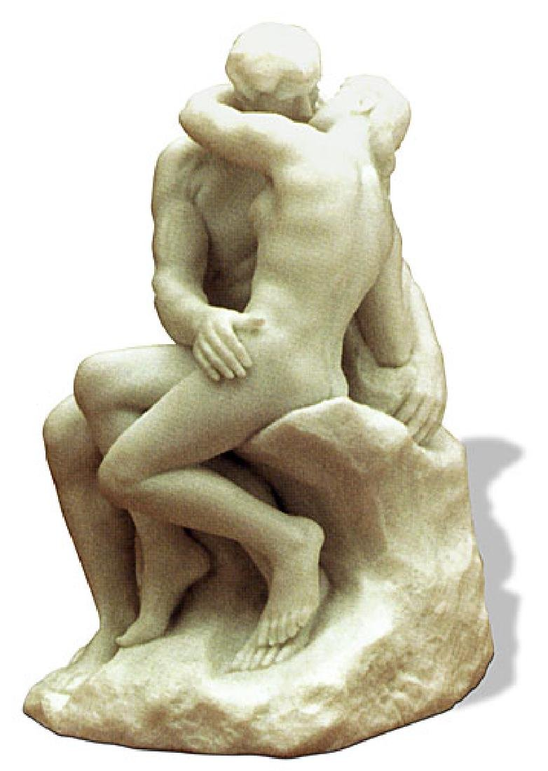 Auguste Rodin THE KISS Sculpture