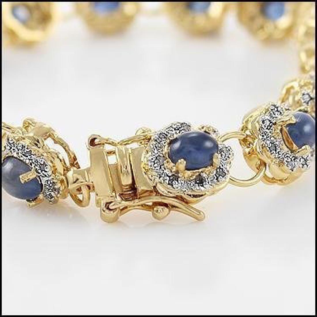 15.35 Sapphire & Diamond Designer Bracelet MSRP $1495 - 2