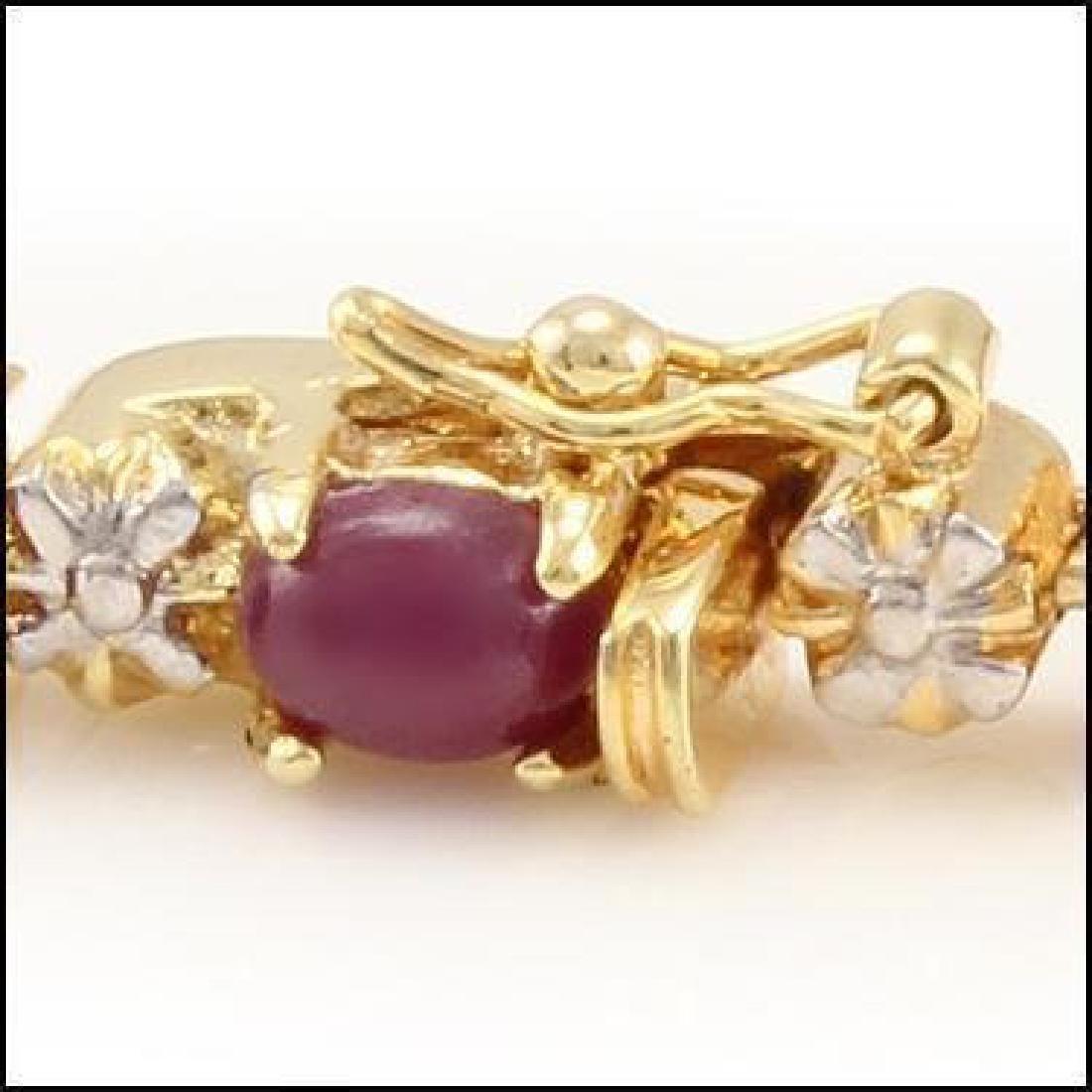 Fine Jewelry Sale 11.88 Ct Ruby & Diamond Bracelet - 2