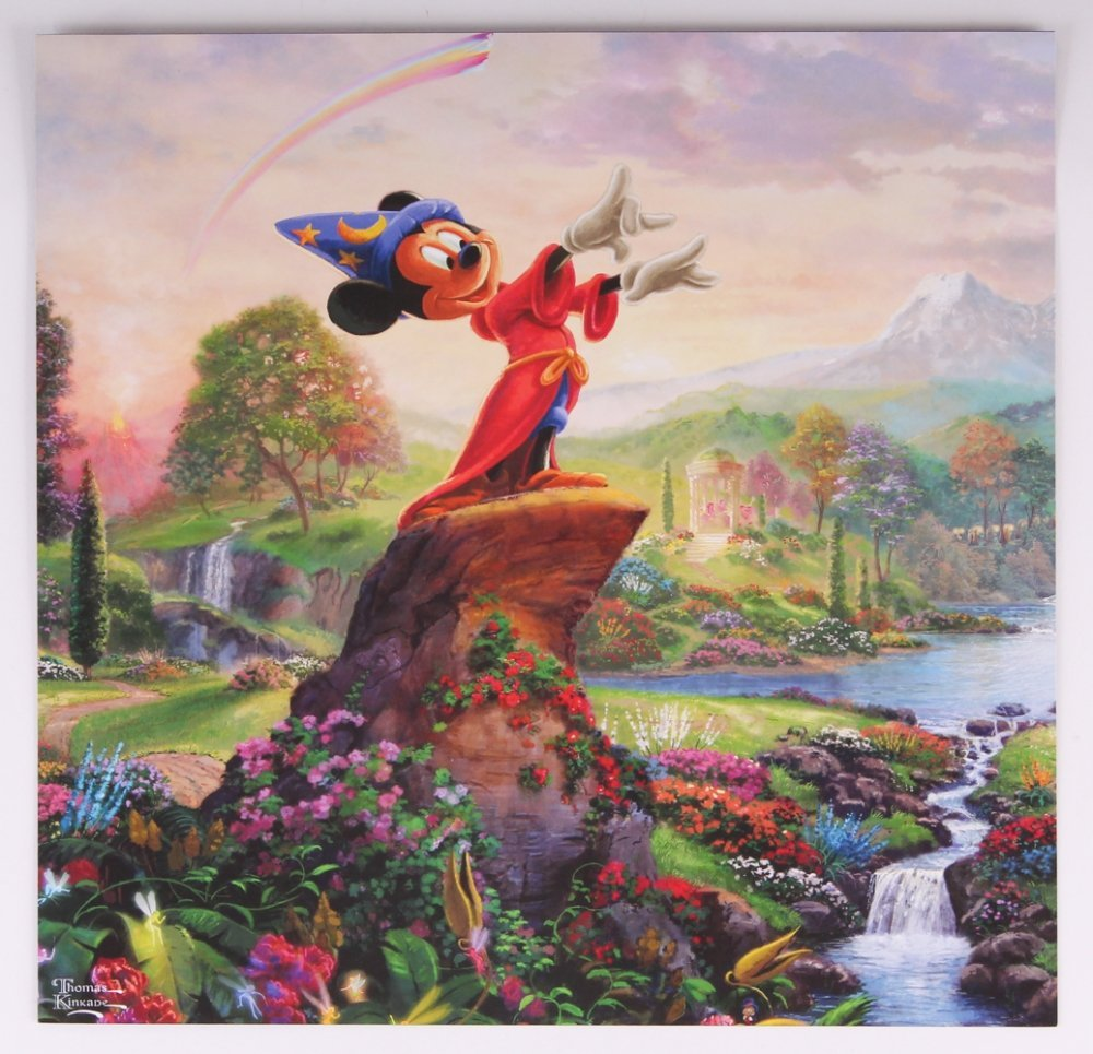 Kinkade Fine Art Print Disney Fantasia
