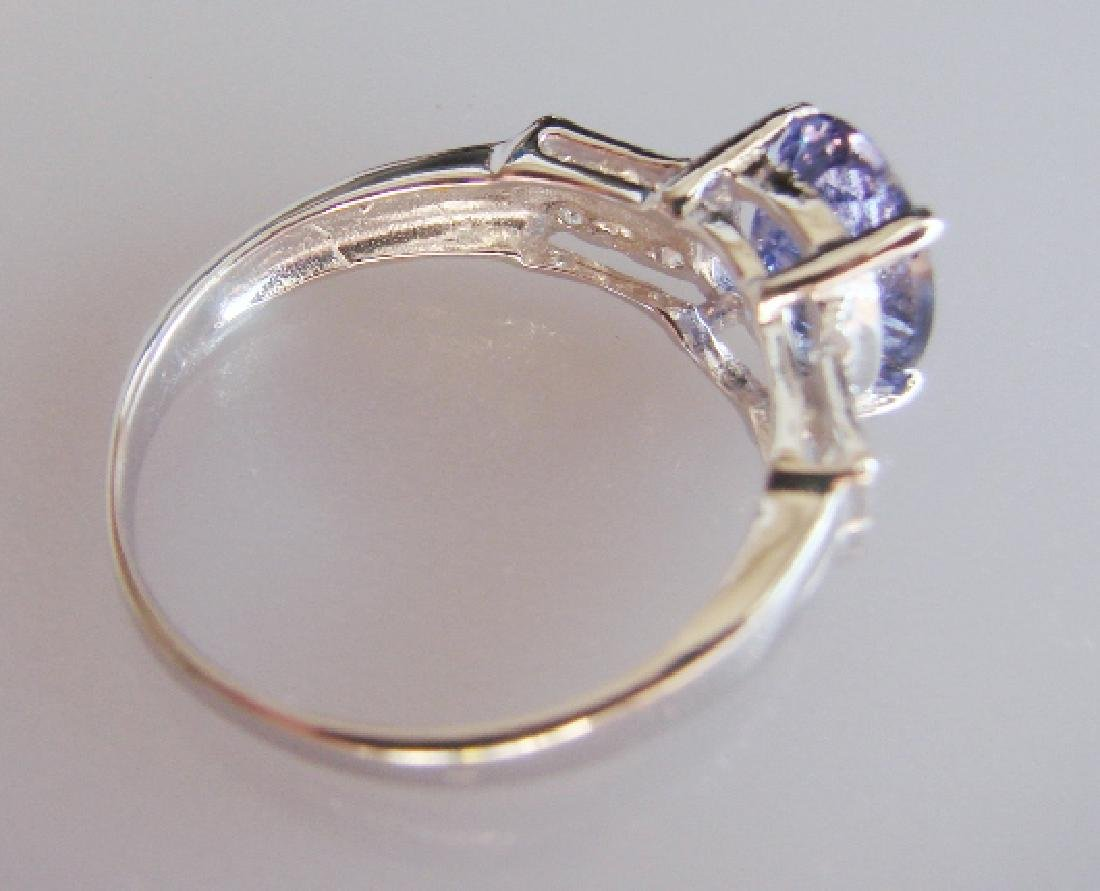 Tanzanite and Diamond Ring - Appraised at $12,470 - 2
