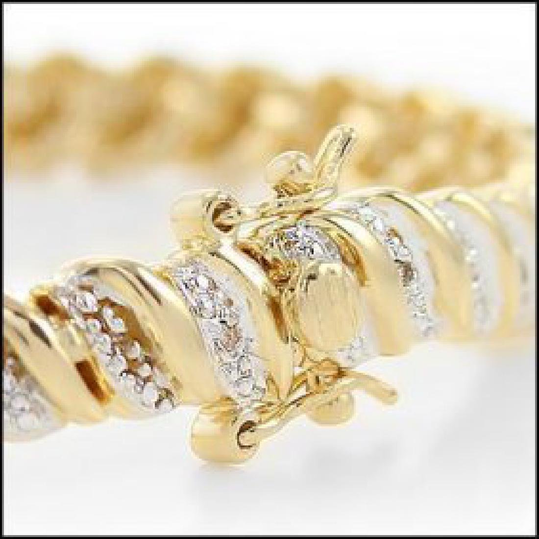1.75 CTW Diamond Tennis Bracelet - 3