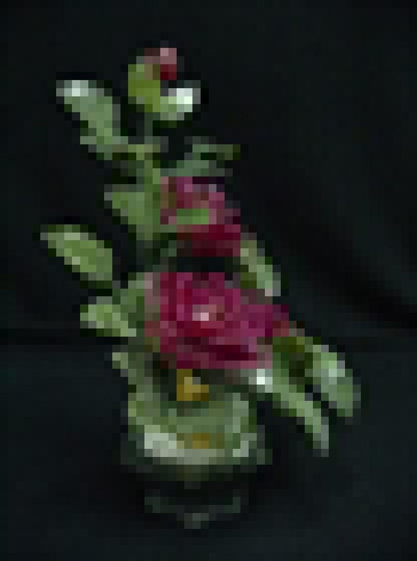 RED JADE BONSAI ROSES - 2