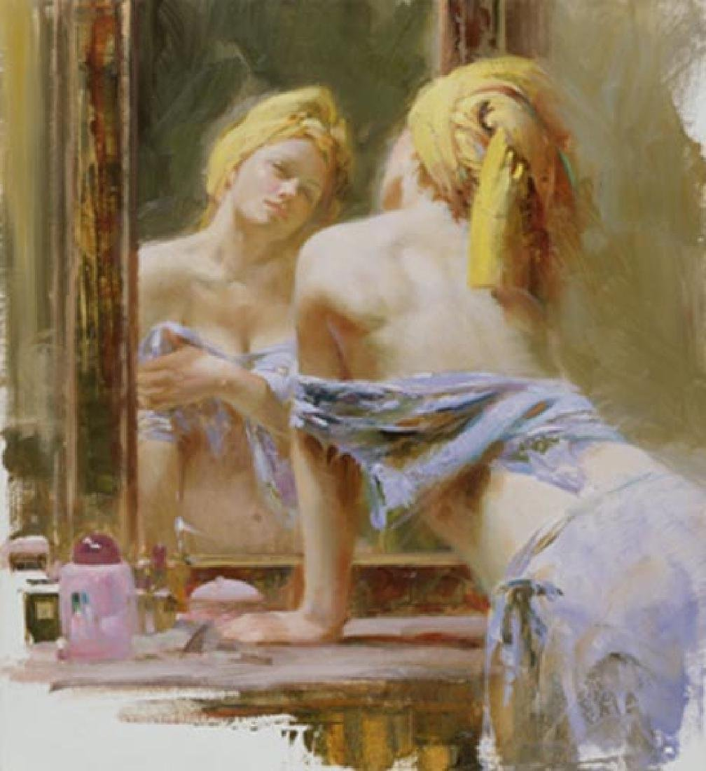 "Pino ""MORNING REFLECTIONS"" Ltd Ed. Giclee on Canvas"