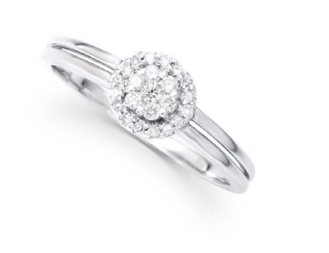 0.34 Cts Certified Diamond 14K Engagement Ring $5,743