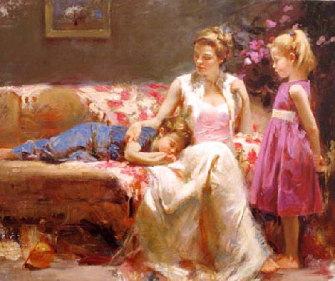 Pino A TIME TO REMEMBER Ltd Ed. Giclee on Canvas