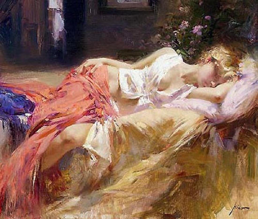 "Pino ""DAYDREAM"" Ltd Ed. Giclee on Canvas"