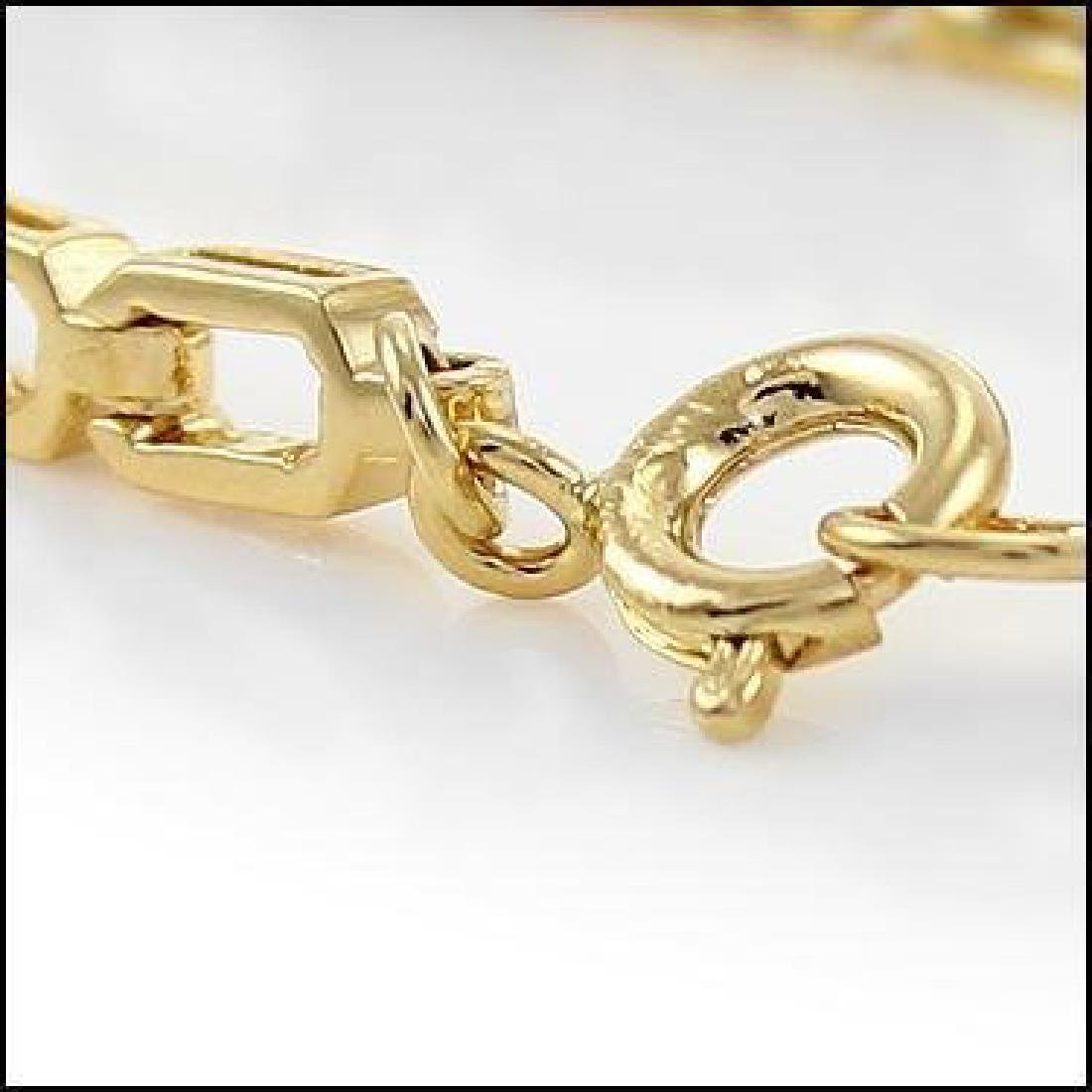 4.09 Ct Green Agate & Diamond Designer Bracelet - 2