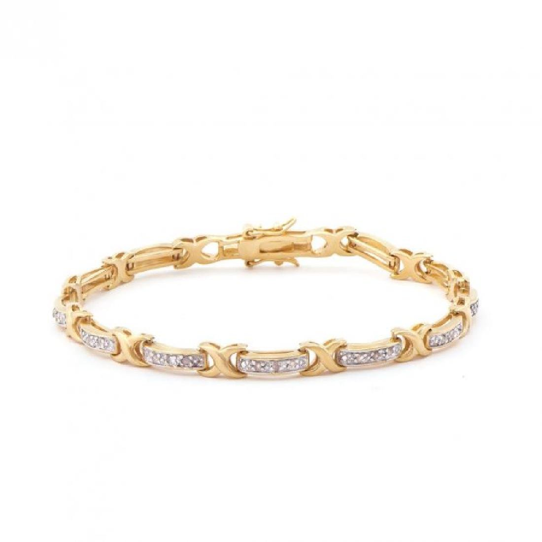 0.81 CT Diamond Designer Bracelet List Price $1,165!