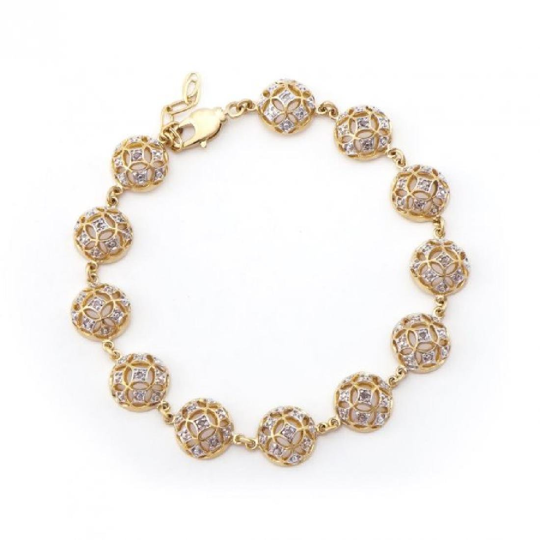 0.67 CT Diamond Designer Bracelet List Price $1,470