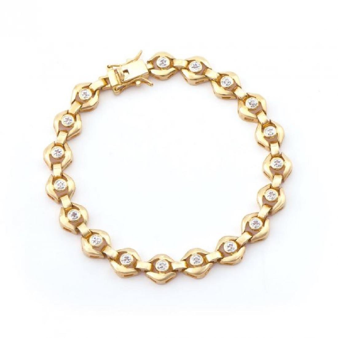 0.69 CT Diamond Designer Bracelet List Price $1,140.00!