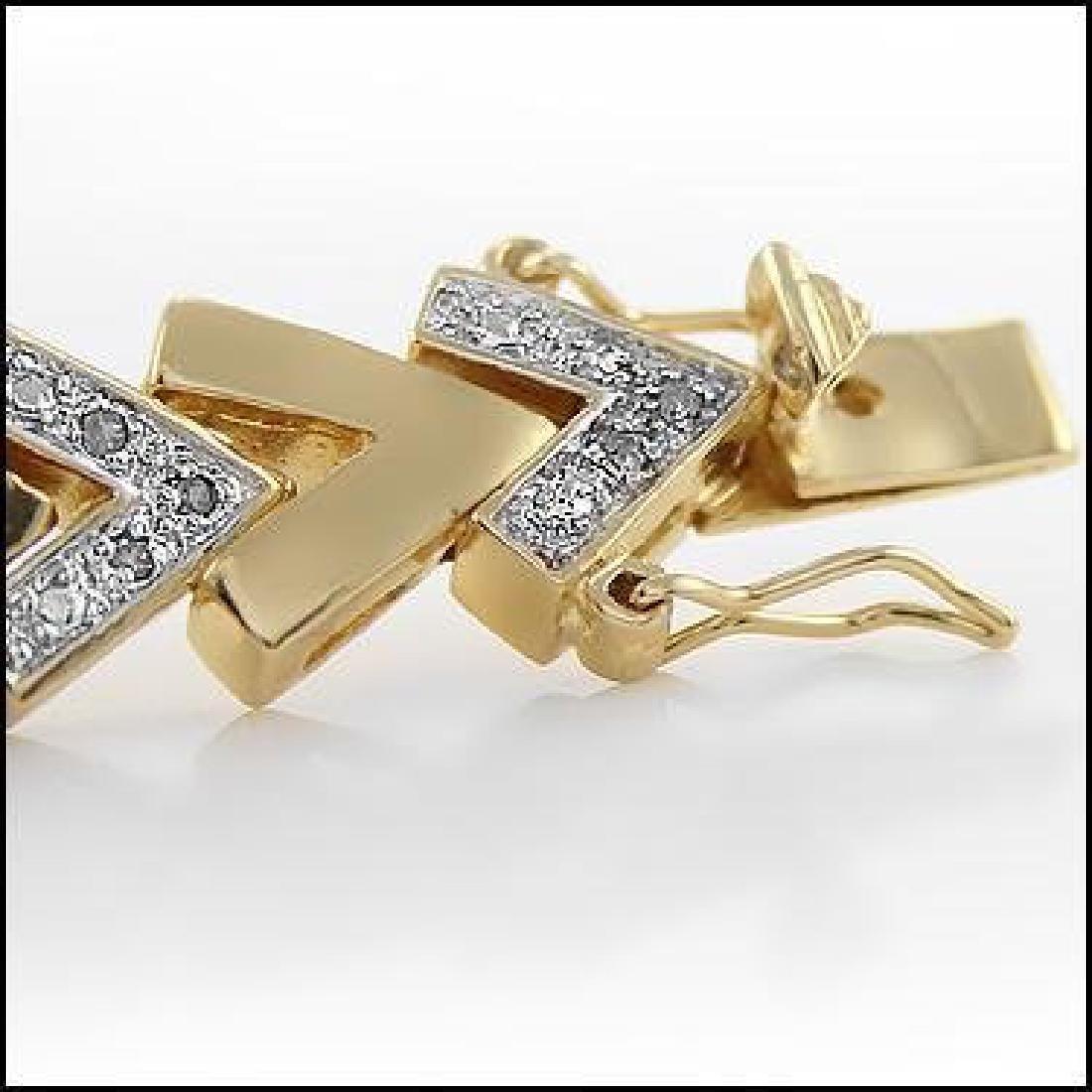 0.92 CTW Diamond Fine Designer Bracelet - 4