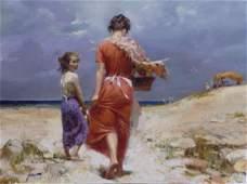 Pino SUMMER RETREAT Ltd Ed Giclee on Canvas