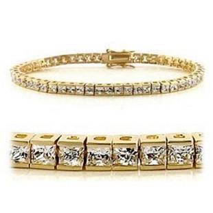 032 CT Diamond 18KGP Designer Bracelet