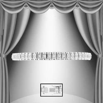 0.59 Cts Diamond Designer Bracelet