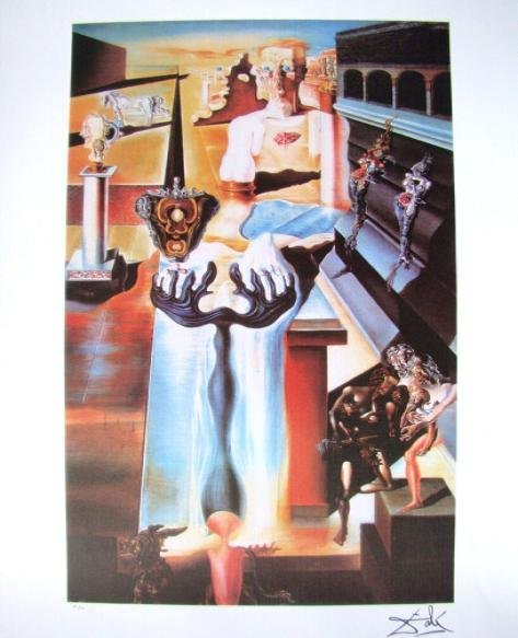 237: Salvador Dali Signed Limited Edition. Lithograph I