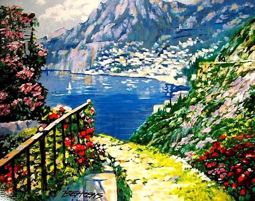 16: Howard Behrens ROAD TO POSITANO