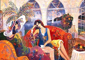 15: Isaac Maimon MONTEGO BAY Hand Signed Serigraph