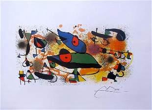 Joan Miro SCULPTURES II Facsimile Signed Limited