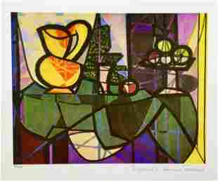Picasso PITCHER AND BOWL OF FRUIT Estate Signed Giclee