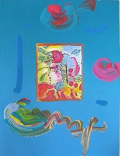 "8: Peter Max ""Profile Series III"" Hand Signed"