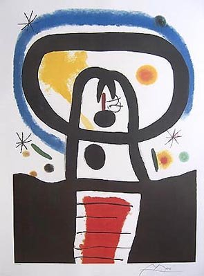 11: Joan Miro EQUINOX Limited Ed. Plate Signed