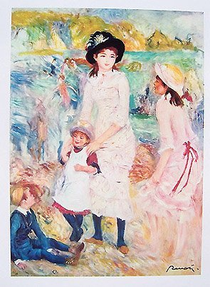 14: Renoir CHILDREN AT THE SEASHORE Giclee