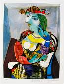 Pablo Picasso MARIE THERESE Estate Signed Ltd Ed Giclee