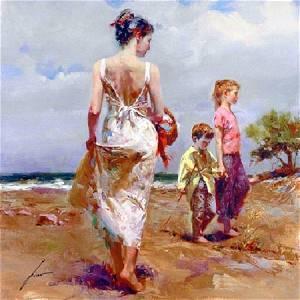 "Pino ""MEDITERRANEAN BREEZE"" Ltd Ed. Giclee on Canvas"