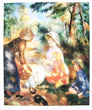 13: Renoir APPLE SELLER, 1890 Limited Ed. Giclee