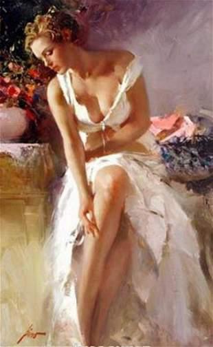 Pino ANGELICA Ltd Ed. Giclee on Canvas