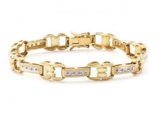 0.78 CT Diamond Designer Bracelet MSRP $1,585.00!