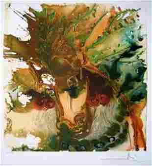 "Salvador Dali Ltd Ed. Lithograph ""BUCEPHALE"""
