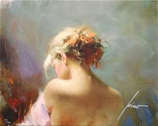 "Pino ""Desire"" Ltd Ed. Giclee on Canvas"