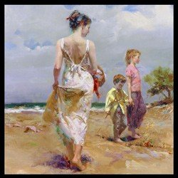 4: Pino Limited Edition Giclee - Mediterranean Breeze