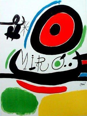 13: Joan Miro TRES LLIBRES Lithograph