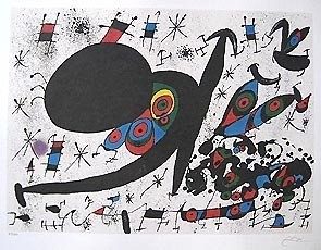 12: Joan Miro HOMAGE TO JOAN PRATS