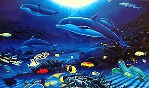 17: Robert Wyland IN THE COMPANY OF DOLPHINS