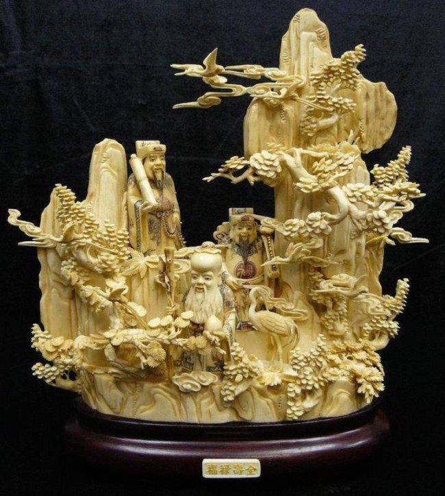 10: Antique Bone Fairies - 3 Wisemen