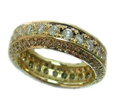 281: Eternity Diamond Ring Appraised at $15,210