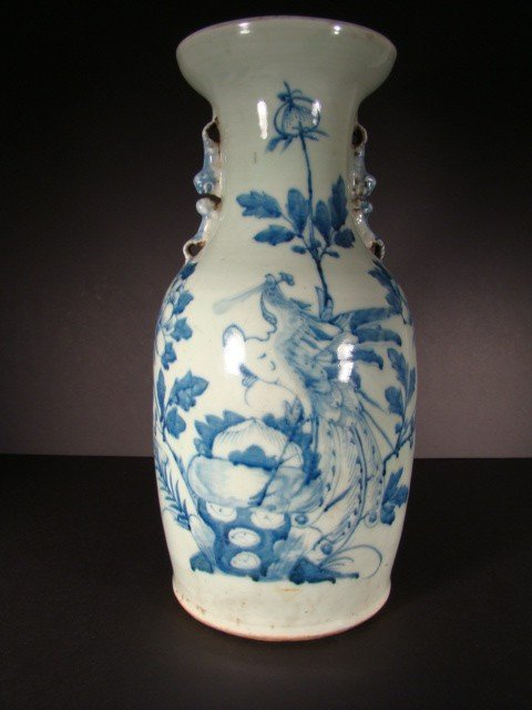 9: Pre 1900's Antique Chinese Vase