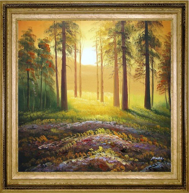 12: Large Framed Oil Painting, A New Dawn