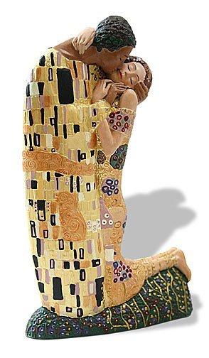 7: Gustav Klimt THE KISS Sculpture