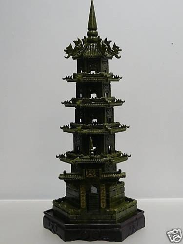 11: ROYAL CHINESE JADE 5 STORY PAGODA
